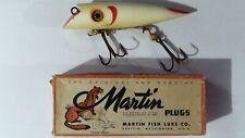 Martin Plugs 5KS-2 White Red Gill Fishing Lure *F1
