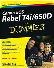 Canon EOS Rebel T4i/650D For Dummies-ExLibrary