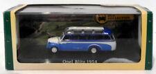 Atlas Editions 1/76 Scale Diecast 7 163 131 - 1954 Opel Blitz - Blue