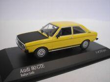 AUDI 80 GTE 1975 RALLY AMARILLO 1/43 Minichamps 400015004 NUEVO
