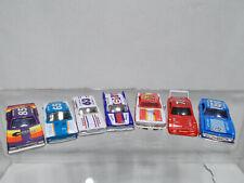 Racing Champions vintage NASCAR 7pc Lot Camaro Cuda Superbird 71 61 85 67 1:64
