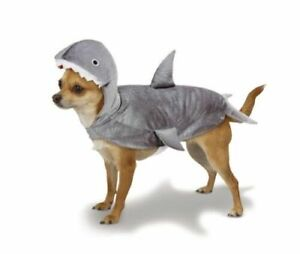 Casual Canine SHARK Plush Fins GRAY Dog Puppy Pet Costume Party Halloween SMALL