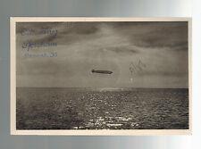 1930 Germany Graf Zeppelin LZ 127  postcard Cover Straubing Flight