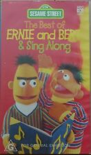 The Best of Ernie and Bert & Sing Along VHS 1998