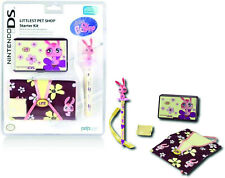KIT ACCESSORI NINTENDO DS LITE LITTLEST PET SHOP CUSTODIA STYLUS NUOVO ORIGINALE
