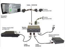 DAB / DAB + Switch Umschalter für VW MDI und DAB beim RNS 510 Navigation