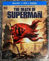READ! The Death of Superman (Blu-ray + DVD + SLIPCOVER 2018) - FREE SHIPPING!
