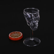 Bones Armor Warrior Skull Design High Wine Glass Goblet Cup Drinkware neB9