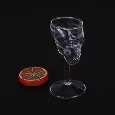 Bones Armor Warrior Skull Design High Wine Glass Goblet Cup Drinkware ODSH