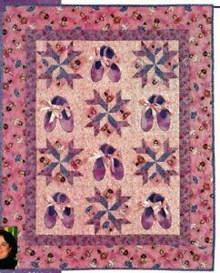 Ballerinas Quilt Pattern Pieced/Applique HP