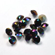 Rainbow Dark Swarovski 39ss 1088 Crystal 8mm Xirius Chatons 12 Pieces