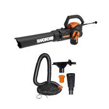WORX WG524 TriVAC  3-in-1 Leaf Blower/Mulcher/Vacuum w/ Leaf Collection System