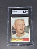 1961 Topps #22 Clem Labine SGC 5.5 Newly Graded & Labelled