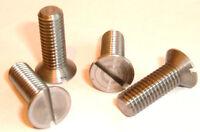"1/4"" BSF x 1/2"" Long Steel Countersunk Screws - Quantity 10 Items"