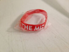 THE MIZ HATERS LOVE ME <3 WRESTLING WWE RUBBER COLLECTORS TRADING BRACELET NEW