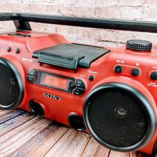 Sony ZS-H10CP Portable Heavy Duty CD Player Radio /AUX Input -Fast Free Shipping