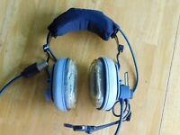BOSE Aviation headset Military grade + case