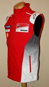 2018 Ducati Motogp Team Issue Vest, Dovizioso 04 / Lorenzo 99 (Rare)