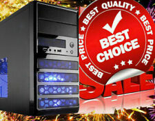 10-Core Gaming Computer Desktop PC Tower SSD Quad 16GB R7 Graphic CUSTOM BUILT