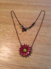 """Lucky Brand 18-1/2"""" Flower Necklace"""