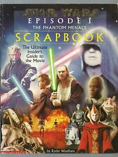 3 STAR WARS 'THE PHANTOM MENACE' BOOKS/SCRAPBOOK & 16 CARDS/MOVIEBOOK/WHATS WHAT