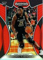 2019-20 Panini Prizm Draft Picks MFIONDU KABENGELE Orange Prizm RC