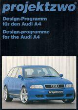AUDI A4 projektzwo bodystyling & Accessori Tuning 1998 mercato tedesco opuscolo