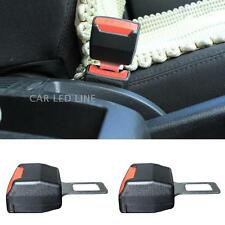 2X Car Seat Belt Extender Safety Eliminator Alarm Stopper Buckle Insert Clips