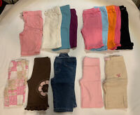 Baby girl clothes lot Pants 3-6 Months (14 Pants)
