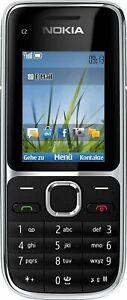 Nokia C2-01 Black Black Neuware ohne Vertrag, sofort lieferbar vom DE Händler