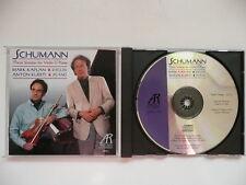 Mark Kaplan & Anton Kuerti play Schumann Violin Sonatas Arabesque Z6662 CD