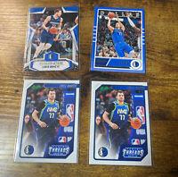 2019/2020 Luka Doncic NBA Panini 4 Card Lot!!