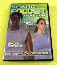 Sparq Soccer Training ~ DVD Video Freddy Adu Shannon Boxx Drills Sports Coaching