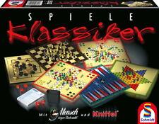 Schmidt Spiele Familienspiel Spielesammlung Klassiker Spielesammlung 49120