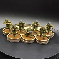 Painted 28mm Bolt Action german Infantry ×7 Tabletop Standard Warlord Games