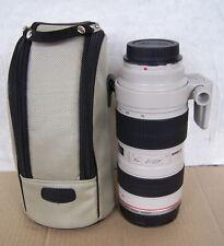 Canon Zoom Lens Ef 70-200Mm Usm 1:2.8 Digital Camera Lens & Lens Bag