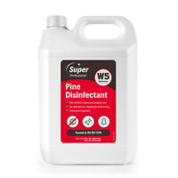 Anti bacterial Disinfectant Spray W5 Fresh Pine Surface Cleaner Kills 99.99% 5L