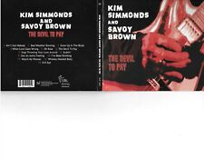 KIM SIMMONDS & SAVOY BROWN - THE DEVIL TO PAY - LIKE NEW BLUES ROCK