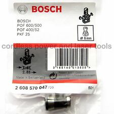 BOSCH 6mm Collet Chuck GGS 27 Grinder POF 52 400 500 600 Router 2 608 570 047