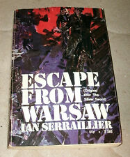 ESCAPE FROM WARSAW by IAN SERRAILLIER 1970 PB 8th printing