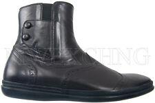 CESARE PACIOTTI SHEARLING ANKLE BOOTS US 6.5 ITALIAN DESIGNER MENS SHOES