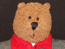RED 38 JACKET BLUEJEANS PLUSH BABY GAP BRENNEN TEDDY BEAR STUFFED ANIMAL TOY