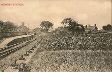 HEMSBY( Norfolk) : Hemsby Station-WOOLSTON'S series