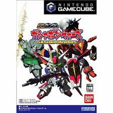 SD Gundam GASHAPONWARS gamecube GC Import Japan