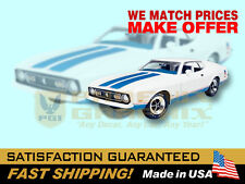 1972 Mustang Sprint COMPLETE Decals & Stripes Kit
