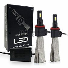 2x Fanless H11 H8 Canbus LED Fog Light Kit 6000K Xenon White Bulb Super Bright