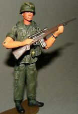"1:18 Ultimate Soldier  Vietnam U.S Army Infantry Sniper M14  Platoon Figure 4"""