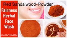 100% Pure & Natural Ayurvedic A Grade Red Sandalwood Powder  Free Ship
