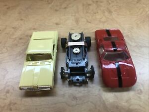 Aurora Tjet Tuff Ones Cougar, Ford GT40 w/ 1 Tuff Ones Chassis