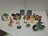 K'nex Knex 29 piece Lot Nintendo Mario Kart Motorized Cars Mario Figures